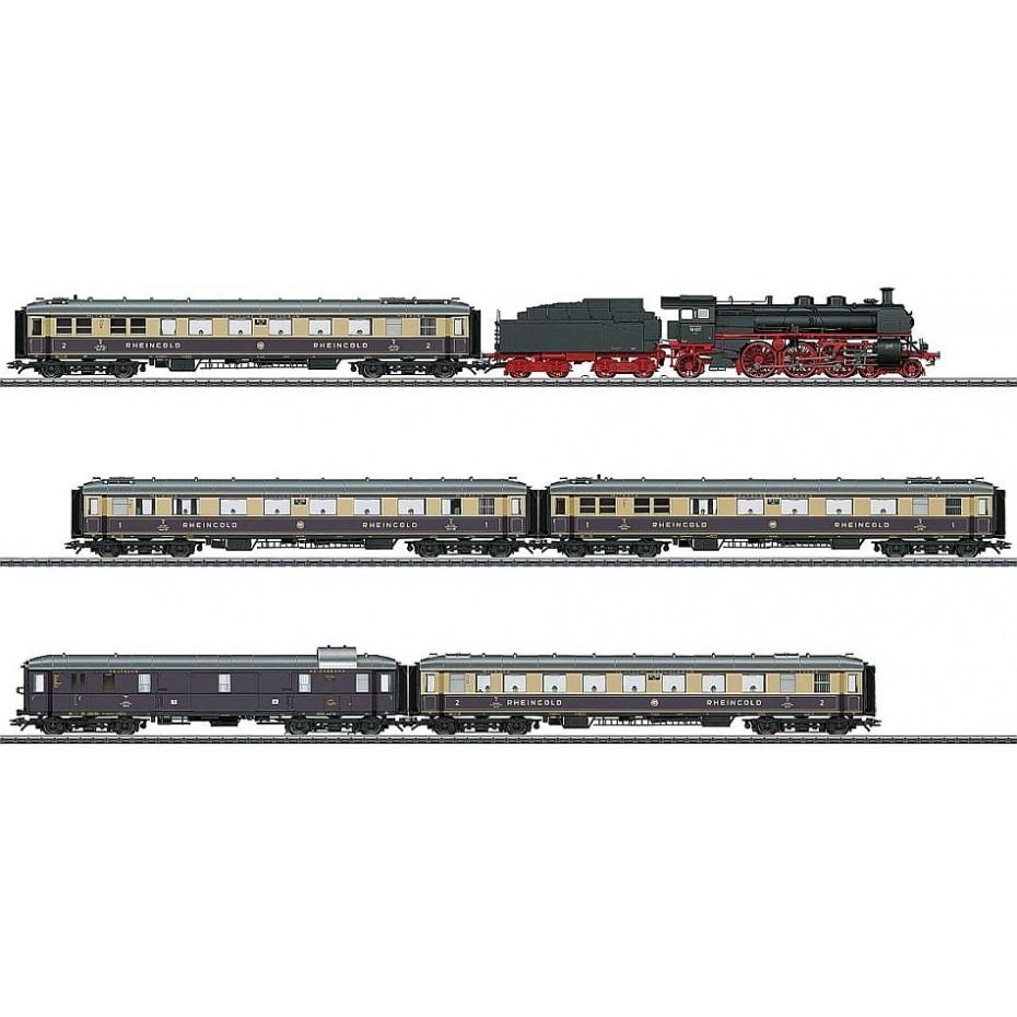 MARKLIN - 26928 - 1928 Rheingold Train Set - 3 Rail HO Gauge