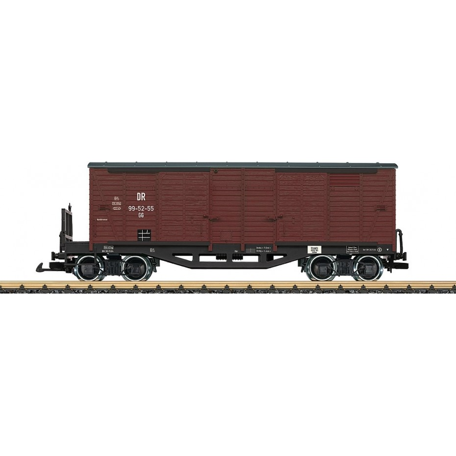 LGB - 42639 - Ged.Freight Goods Wagon DR - G Scale 1:22.5