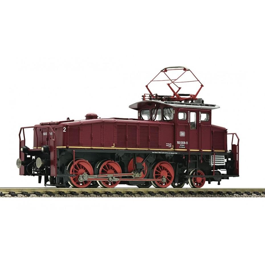 FLEISCHMANN - 436073 - Electric Locomotive BR 160 red Verschublok D - HO Scale