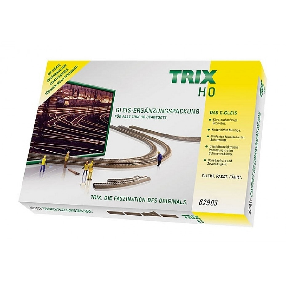 TRIX - 62903 - C-Track-Starter Set Extension Pack C3 HO Gauge