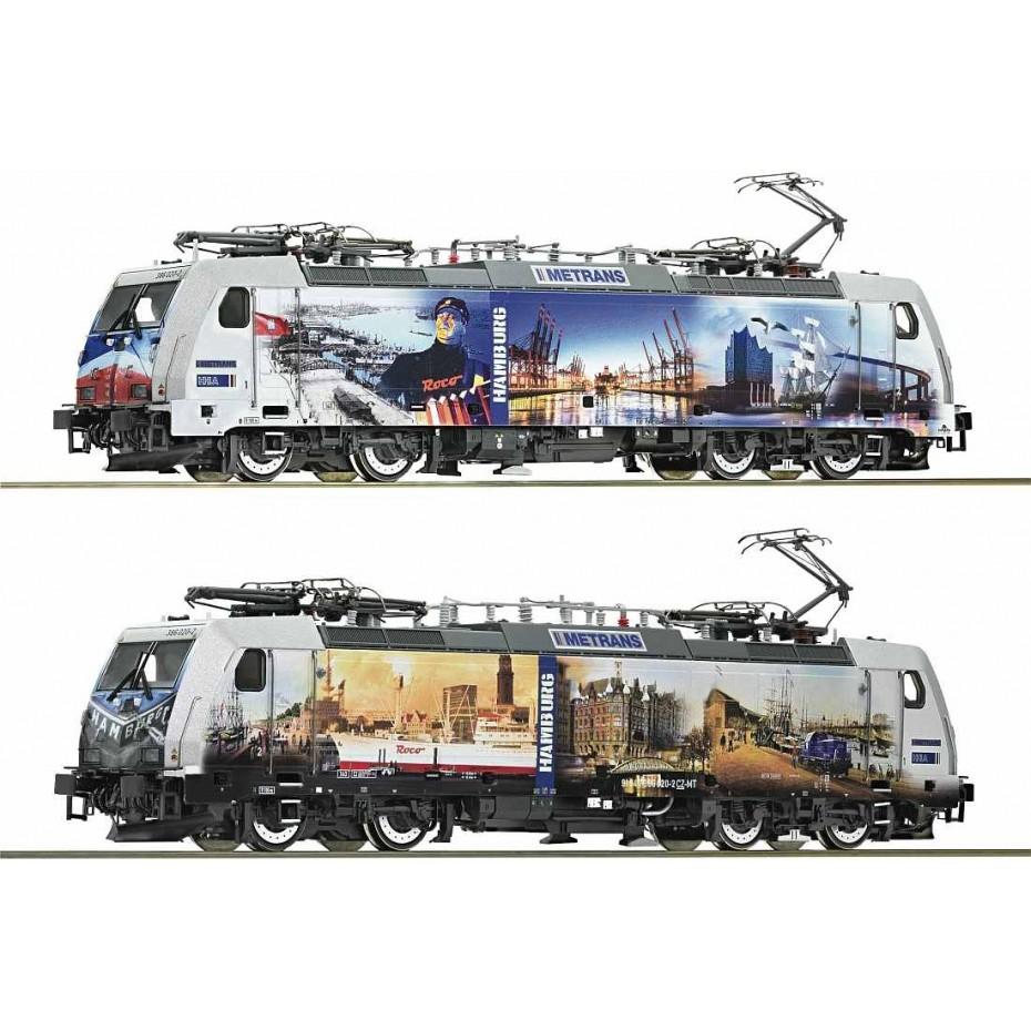 ROCO - 73665 - Electric Locomotive .BR186,Metrans,150Yrs. , Ep VI