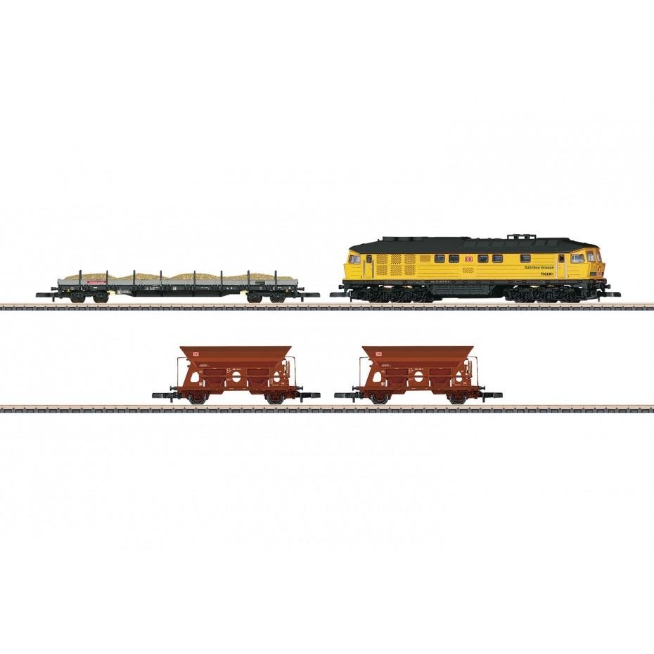 MARKLIN - 081451 - Track maintenance train DB construction Z Scale 1:220