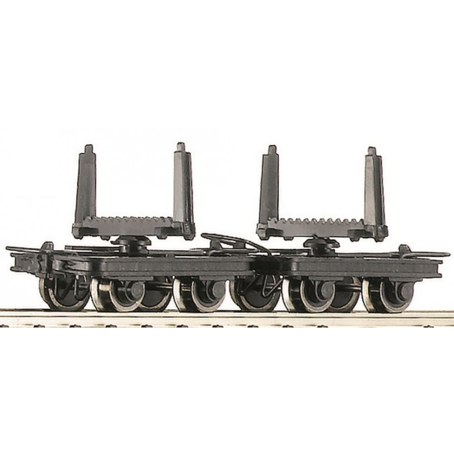 ROCO - 34602 - Set: stated bolster Freight Wagon. - - HOe