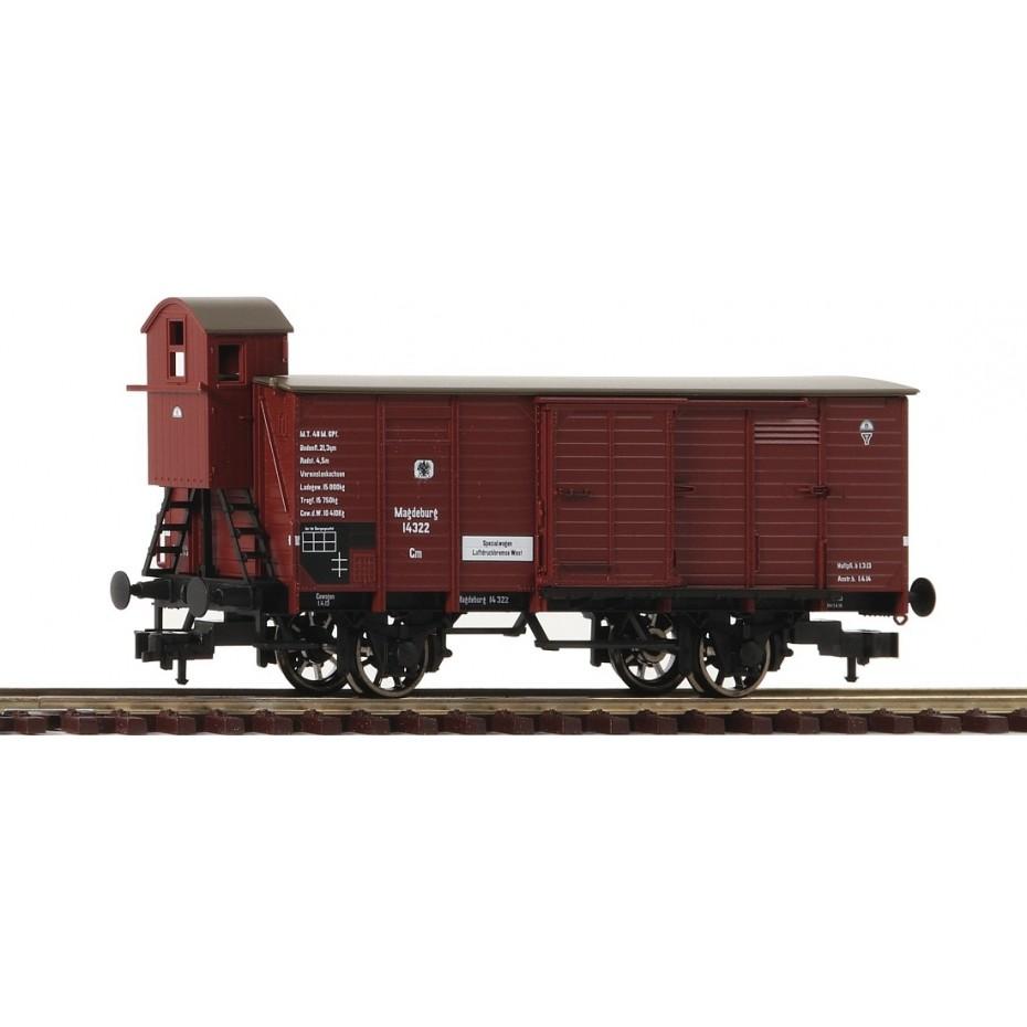 FLEISCHMANN - 536601 - Boxcar type G 02 Stettin , K.V.P.E., spoked wheels - KPEV - HO Gauge - Ep I