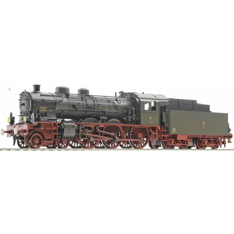 FLEISCHMANN - 411703 - Steam locomotive type S10.1, K.P. E.V. - KPEV - HO Gauge - Ep I