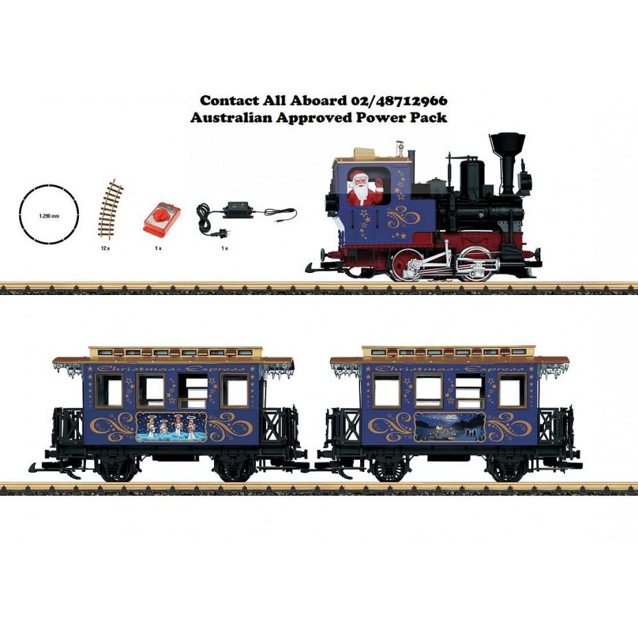 LGB - 70305 - Christmas Starter Set , G gauge 1:22.5
