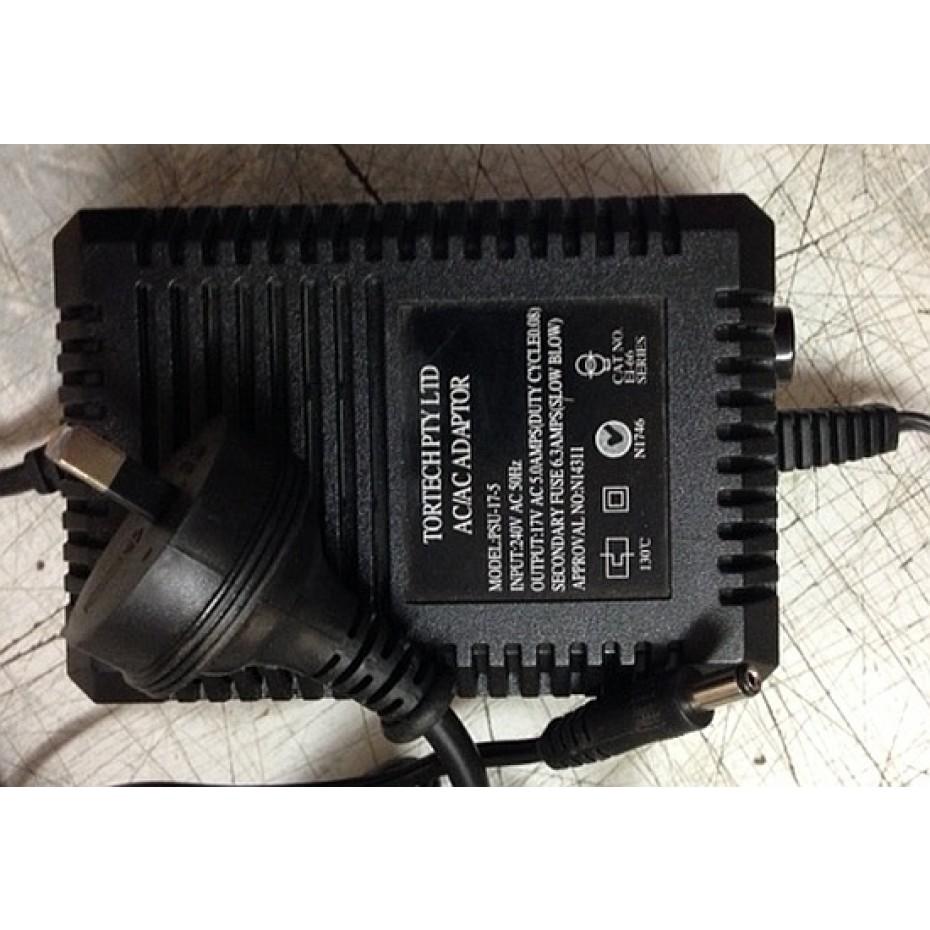 TORTECH - PSU17/5 - 17volt 5 amp TRANSFORMER.