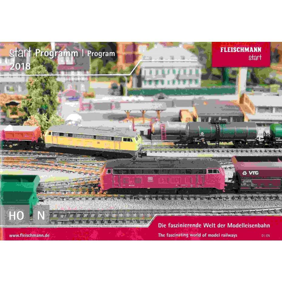 FLEISCHMANN - ROCO - 80816  STARTER SET Program 2018