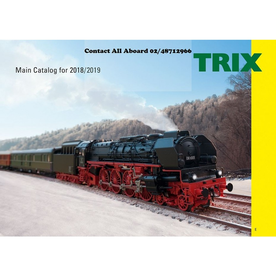 TRIX - 19831 - Full Catalogue HO and N Gauges English Text