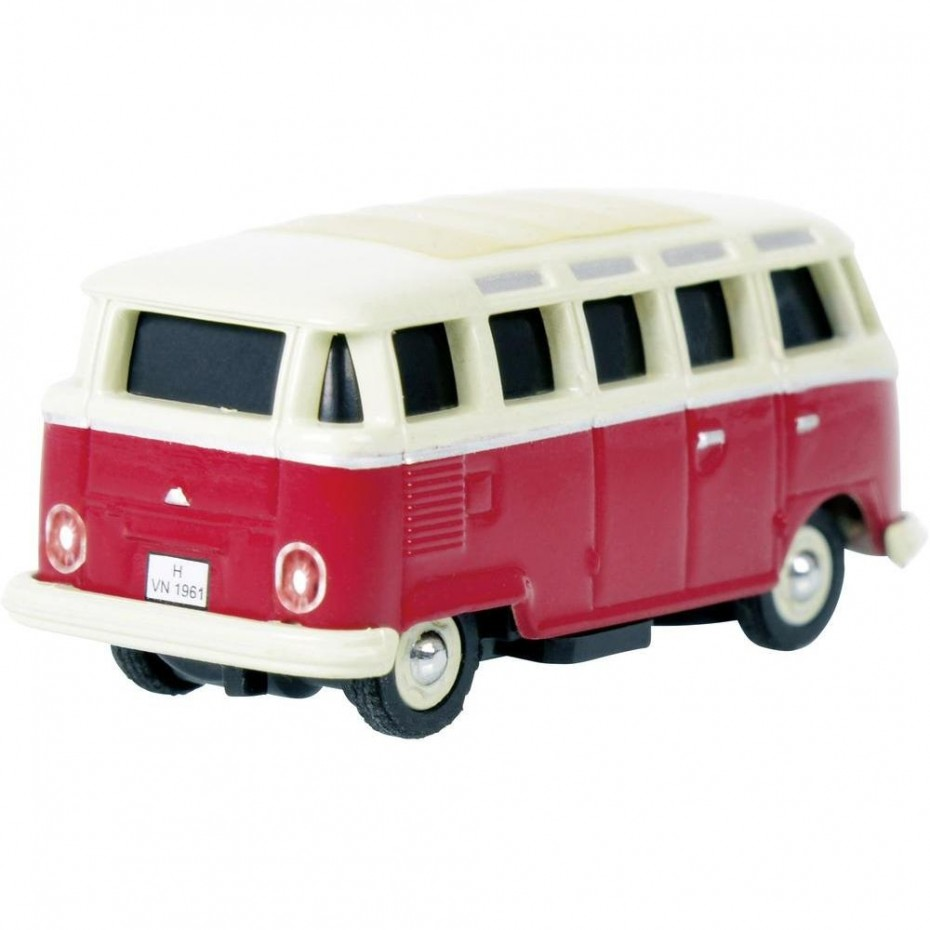 CARSON - 50411 - HO SCALE RC VW COMBI WITH CONTROLLER