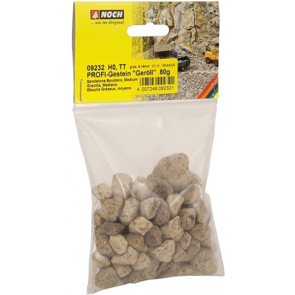 NOCH - 09232 PROFI Rocks Rubble , coarse G,0,H0,TT,N,Z