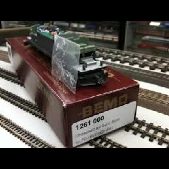 BEMO - - 1261000 - motor conversion kit (5 pole) HGe 4/4 I