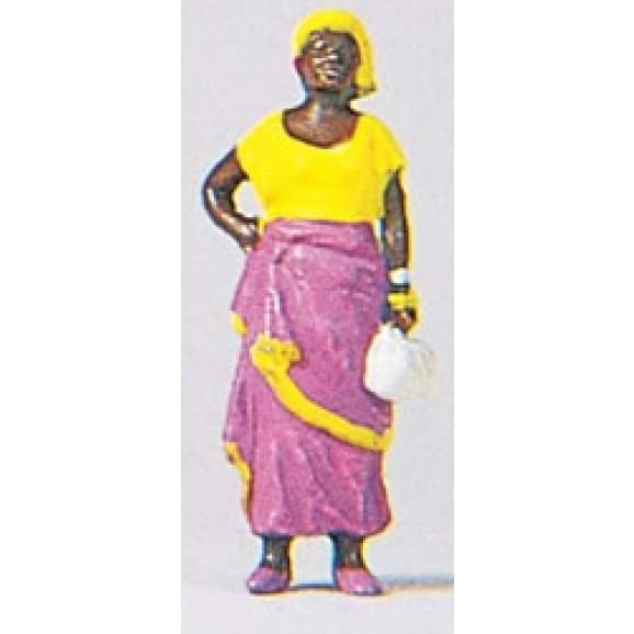 PREISER - PR29047 - AFRICAN LADY (HO SCALE)