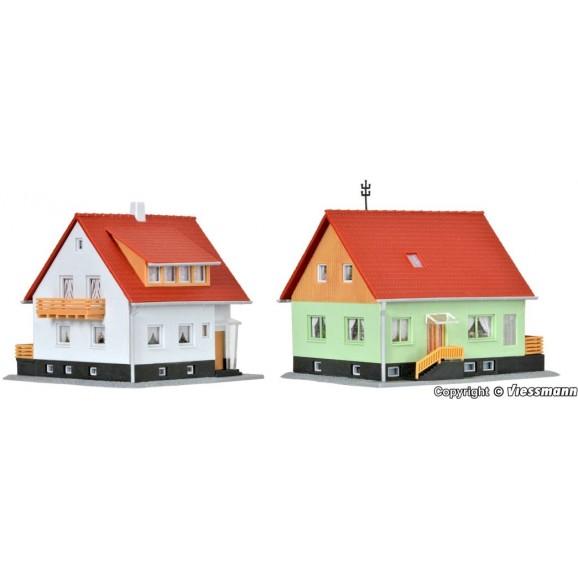 KIBRI - 37040 - N One family house Meisenweg, 2 pieces (N SCALE)