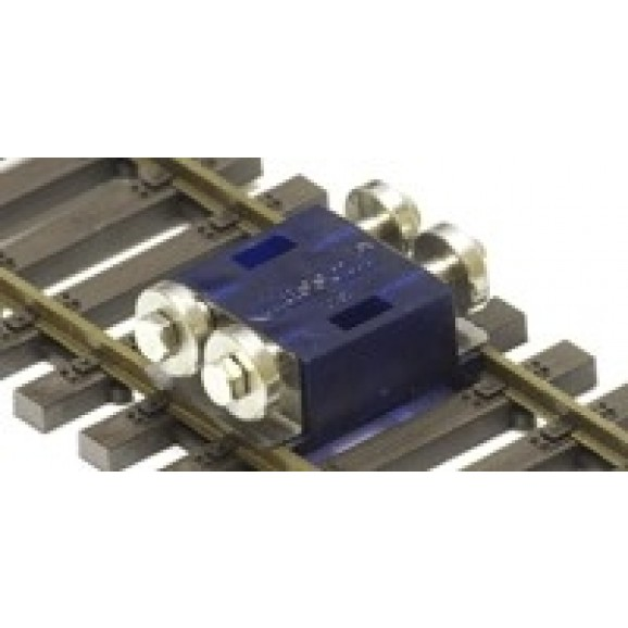 MASSOTH - 8101800 - Rolling Road H0 Scale, blue transparan(Set for 3 axles)