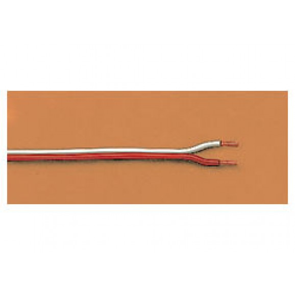 LGB - 50130 - Double braid, orange/white,20m G Gauge 1:22.5