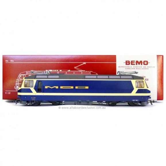 BEMO - - 1259301 - MOB Ge 4/4 8001 electric loco