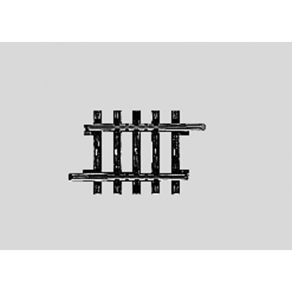 MARKLIN - 02208 - Track Straight. 35.1 mm HO 3 rail