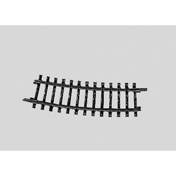 MARKLIN - 02223 - Track Curved .r360 mm 15 gr. HO 3 rail