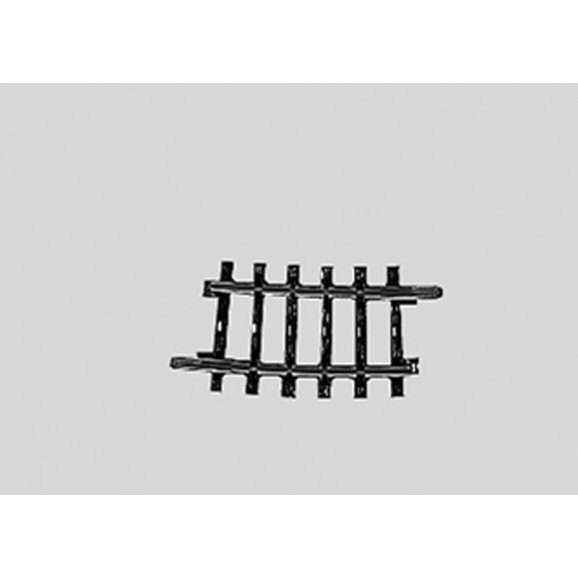 MARKLIN - 02224 - Curved Track r360 mm 7 Gr.30deg HO 3 rail