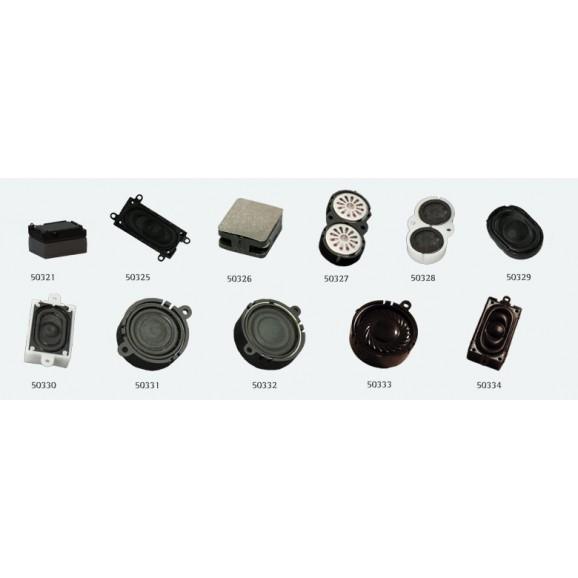 ESU - 50331 - Loudspeaker 20mm, round, 4 ohms, 1~2W, with sound chamber