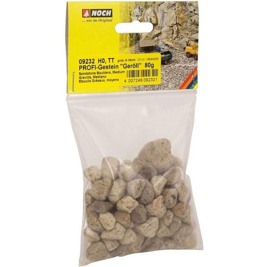 NOCH - 09232 - PROFI-Rocks Rubble coarse, 80 g G,0,H0,TT,N,Z