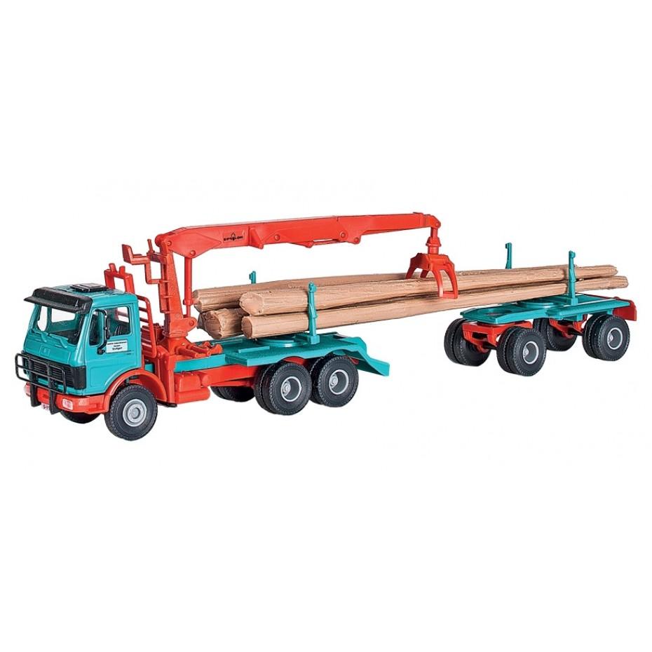 Kibri - 12201 - H0 MB logging truck
