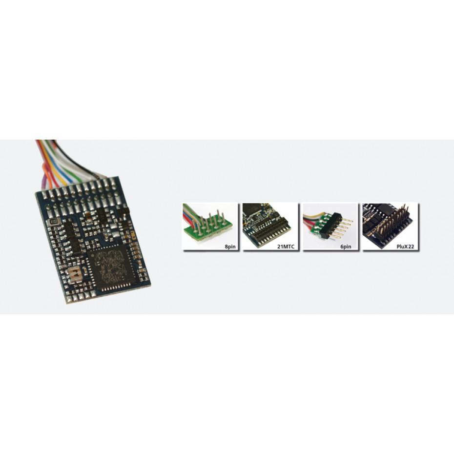 ESU - 54611 - LokPilot V4.0, DCC, 8-pin plug NEM652, cable harness