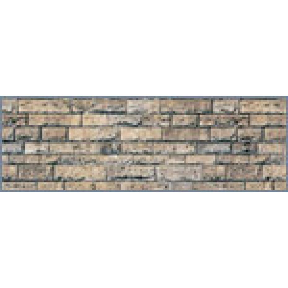 Vollmer - 46038 - H0 Wall plate basalt of cardboard, 25 x 12,5 cm