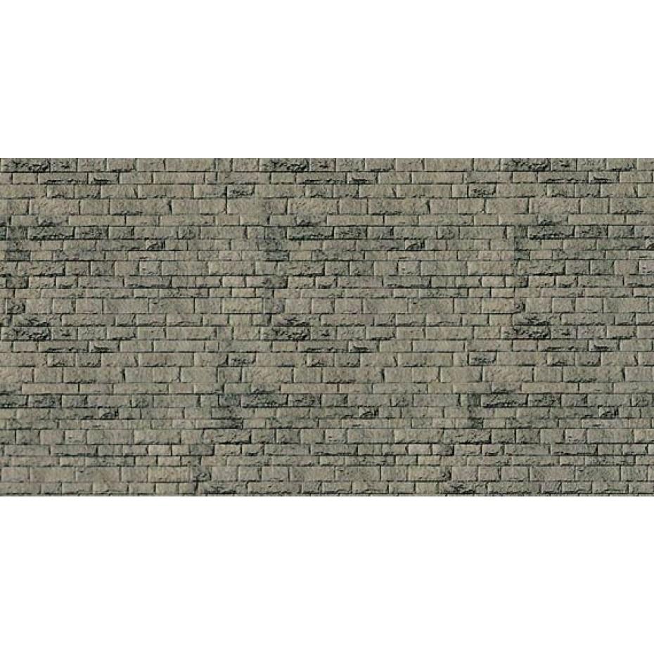 VOLLMER - 47368 - N Wall plate natural cut stone cardboard, 25 x 12.5cm