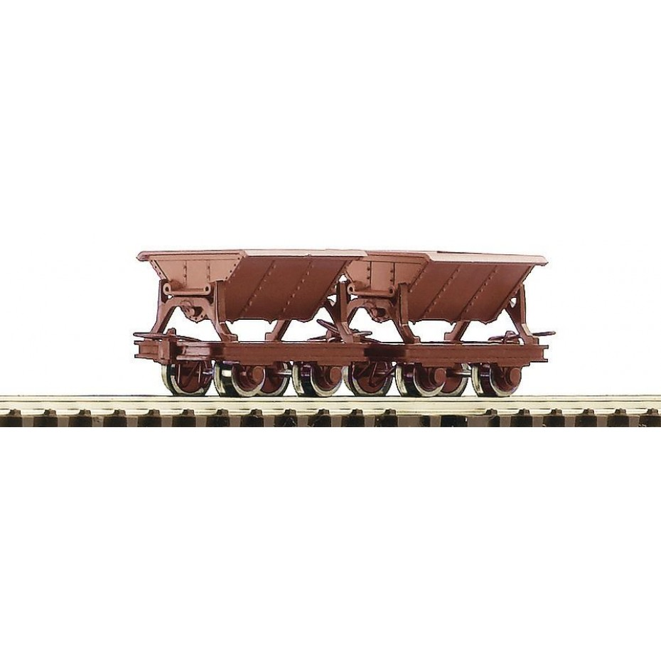 ROCO - 34498 - 2pc.set tipping wagons HOe scale