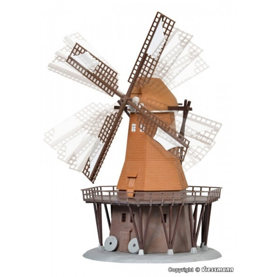 Kibri - 37302 - N Windmill with motor, functional kit