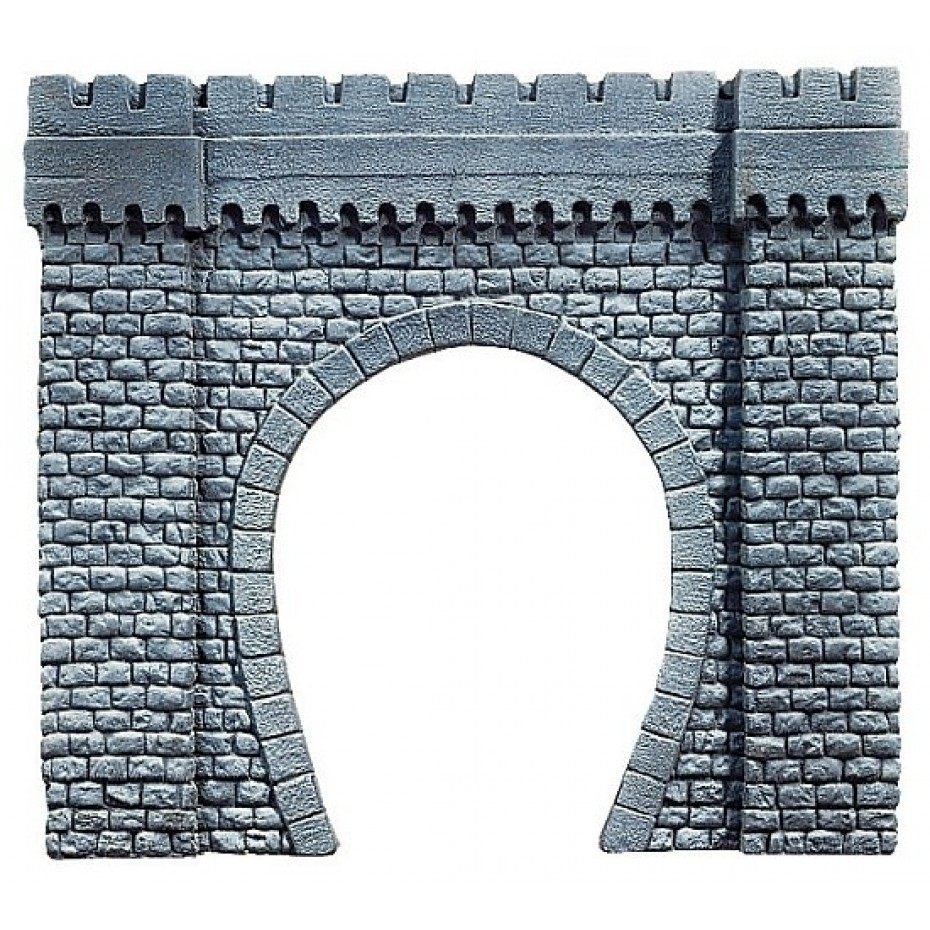 NOCH - 67350 - Tunnel Portal Single Track, 44 x 37 cm G