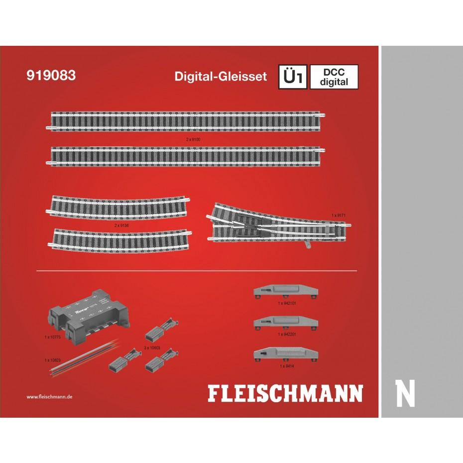 FLEISCHMANN - 919083 - Digital track set Ü1D N Scale