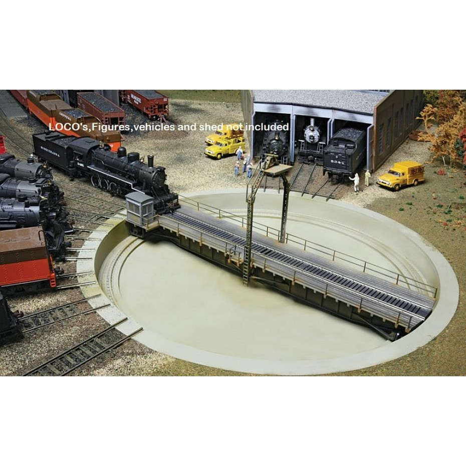 WALTHERS - 933-2860 - DCC TURNTABLE 90FT HO