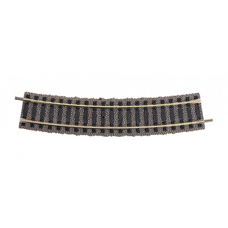 FLEISCHMANN - 6131 - Track curved, R3 PU 10 HO Scale