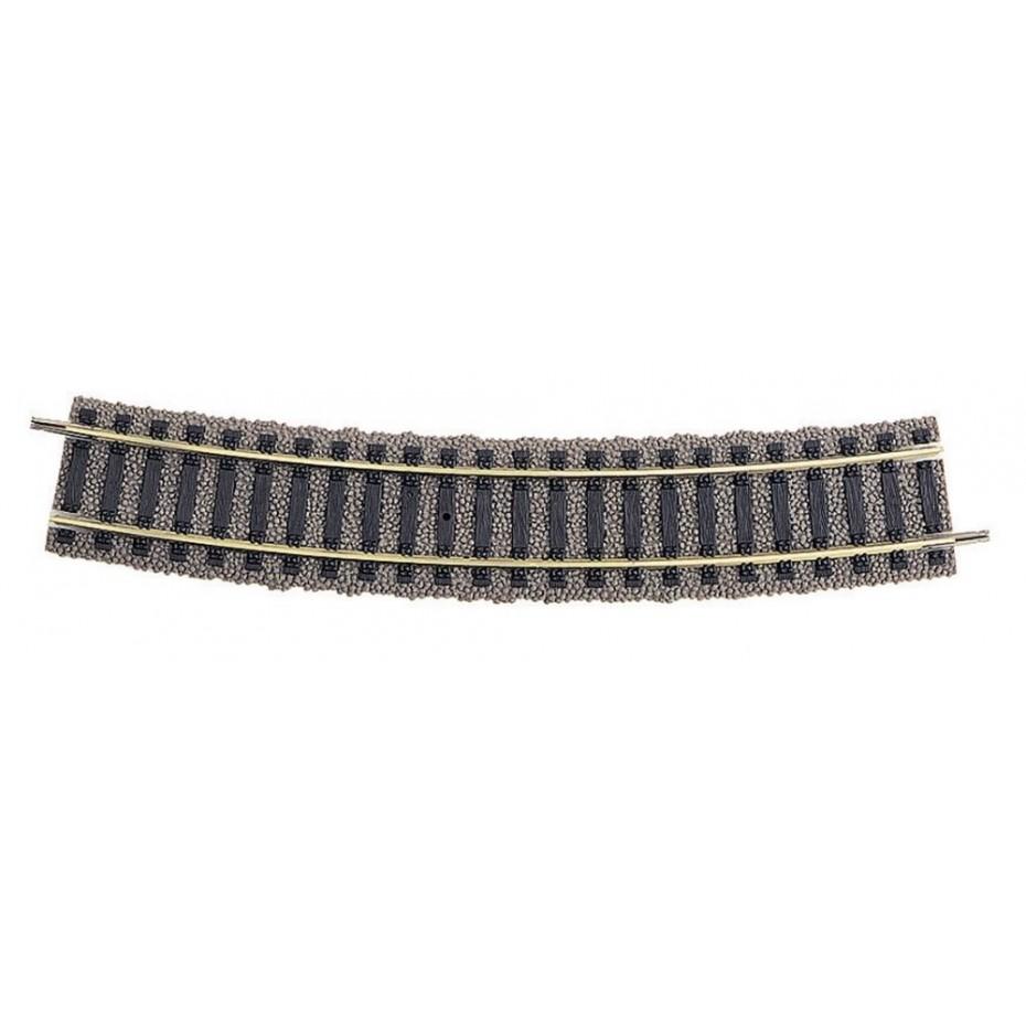 FLEISCHMANN - 6133 - Track curved, R4 PU 10 HO Scale