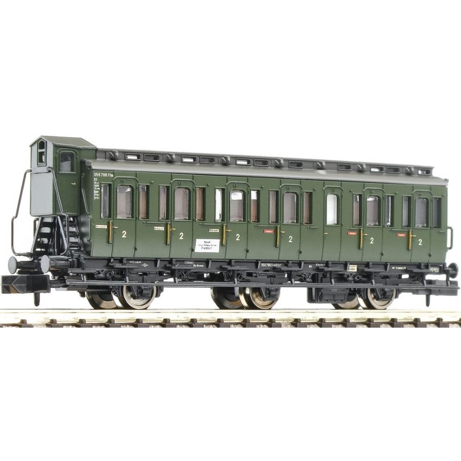 FLEISCHMANN - 807001 - 3-axled 2nd cl DB ep.III DB N Scale