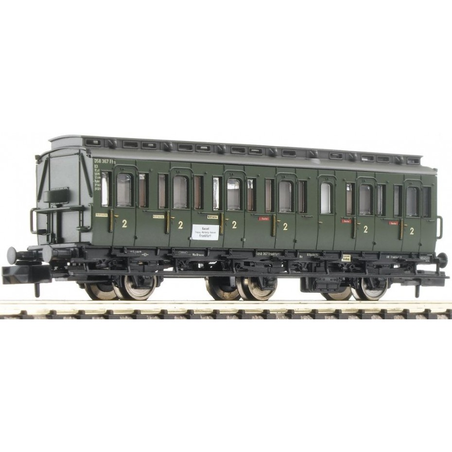 FLEISCHMANN - 807002 - 3-axled 2nd cl DB ep.III DB N Scale