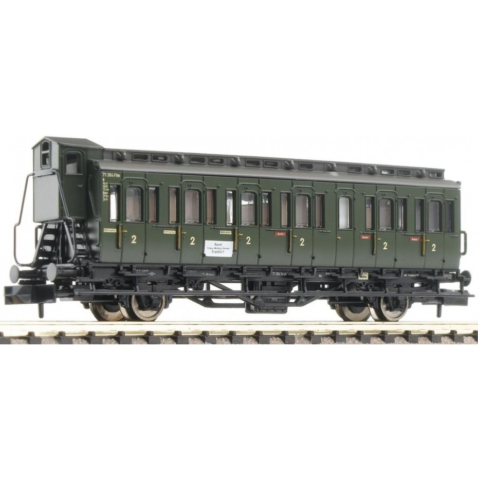 FLEISCHMANN - 807101 - 2-axled 2nd cl DB ep.III DB N Scale