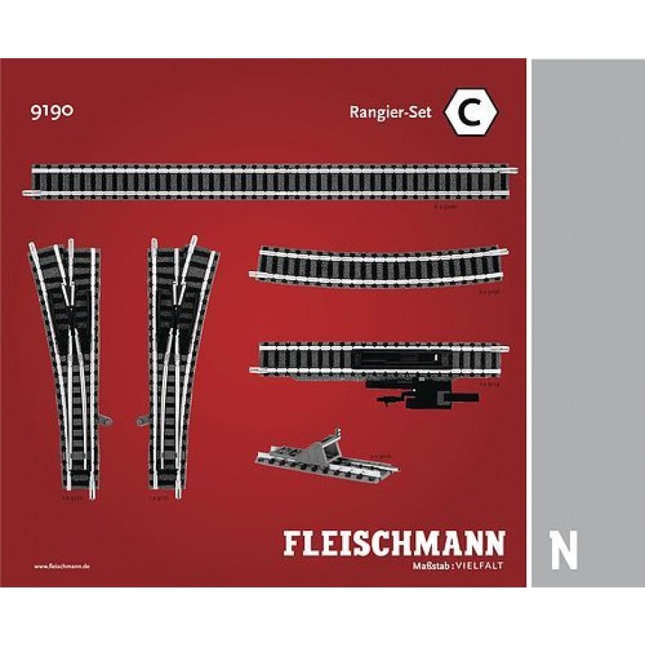 FLEISCHMANN - 9190 - Shunter set C N Scale