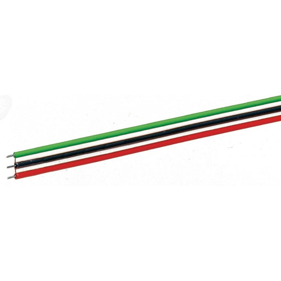 ROCO - 10623 - Flat ribbon cable 3-pole