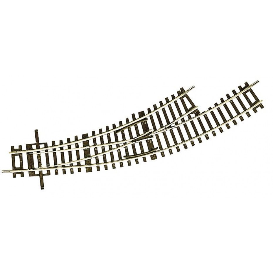 ROCO - 42464 - Turnout curved, BWL-2/3 HO scale