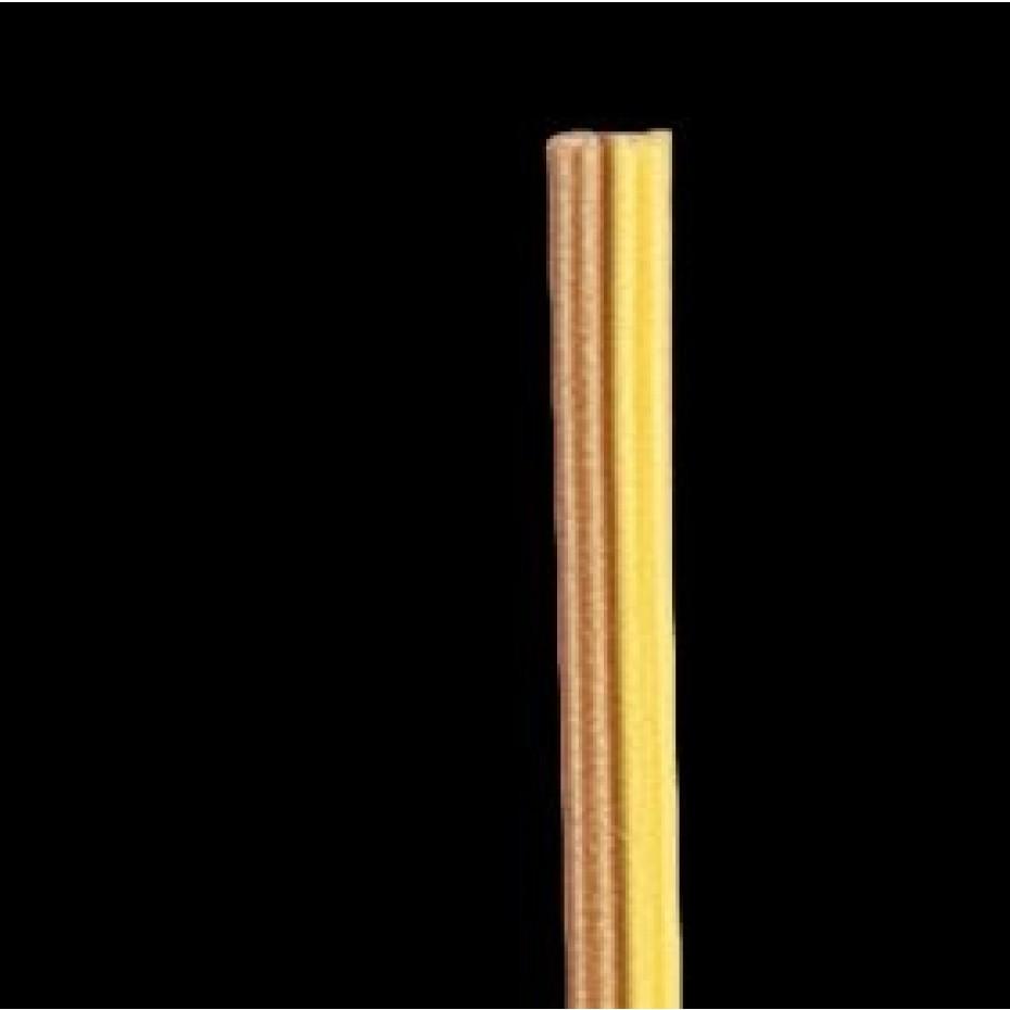 BRAWA - 3171 - Fl. Cable 0,14 mmý, 50 m, br/ye