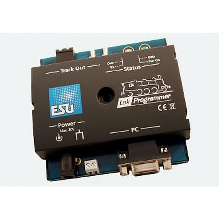 ESU - 53452 - LokProgrammer set: LokProgrammer, OZ power supply 2, serial cable, instruction manual, CD-Rom, USB adapter