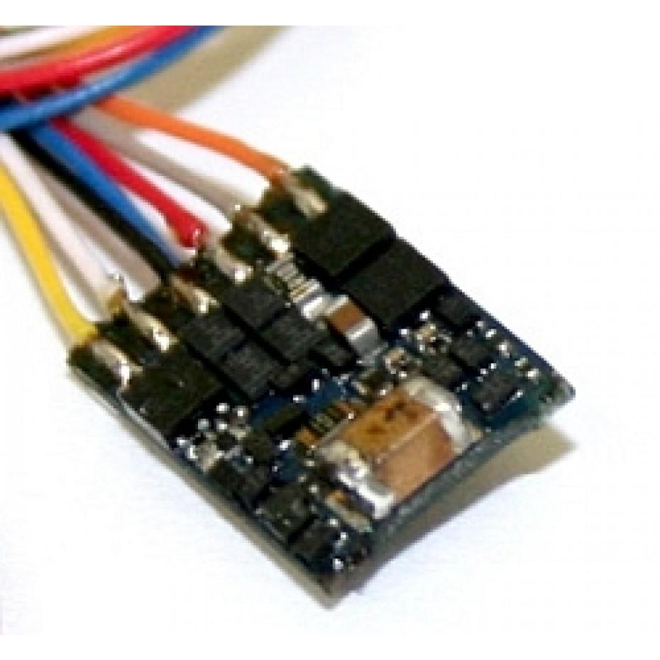 ESU - 54687 - LokPilot micro V4.0, MM/DCC/SX, 6-pin NEM651 with cable