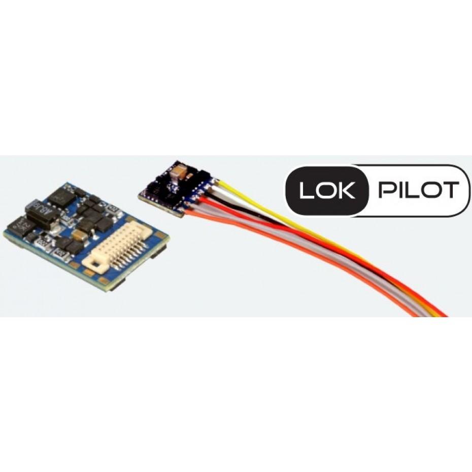 ESU - 59816 - LOKPILOT 5 MICRO 6 PIN W/CABLE DCC/MM/SX/M4
