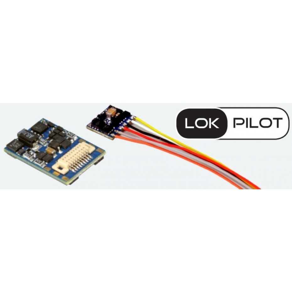 ESU - 59820 - LOKPILOT 5 MICRO DCC 8 PIN WITH WIRES