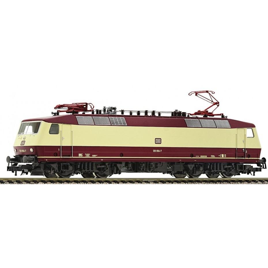 FLEISCHMANN - 435304 - Electric Locomotive BR 120 004-7 Cream/Red DB - HO Gauge - Ep IV