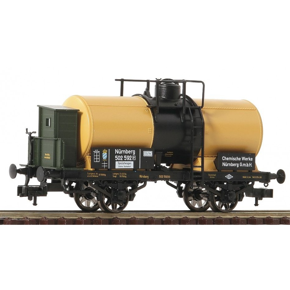 FLEISCHMANN - 543715 - Tank Wagon on of the Chem. Works Nuremberg, K.Bay.Sts - KBSB - HO Gauge - Ep I